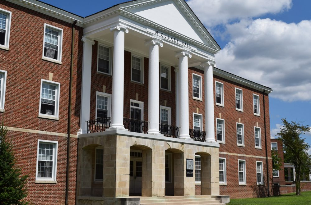 West Virginia Wesleyan College >> Mccuskey Hall West Virginia Wesleyan College West