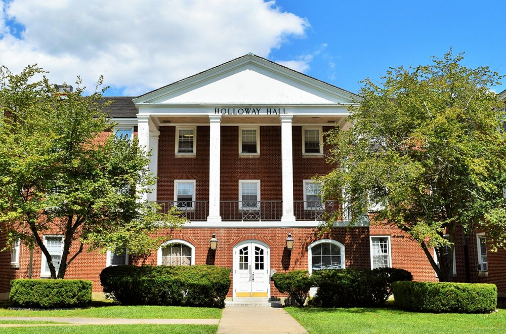 West Virginia Wesleyan College >> Holloway Hall West Virginia Wesleyan College West