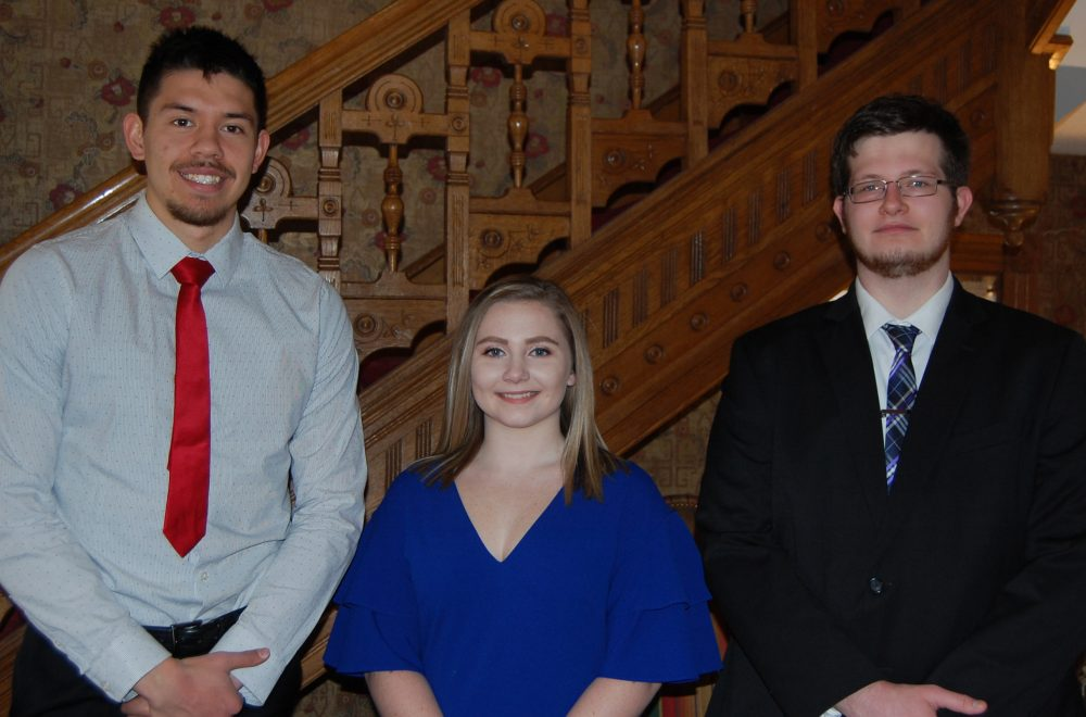 Three West Virginia Wesleyan College students have been named Benjamin A. Gilman International Scholarship recipients for the 2019 summer.