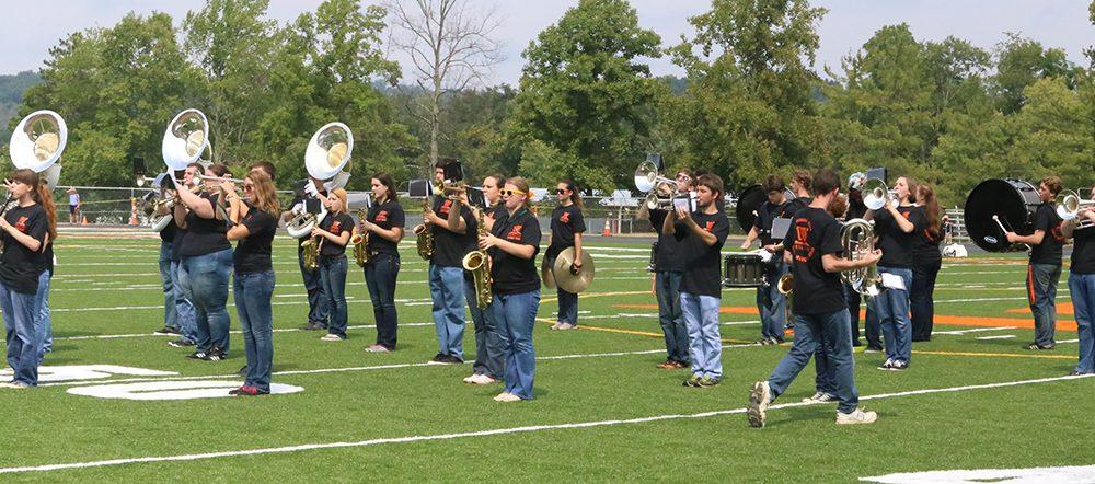 Wesleyan Marching Band