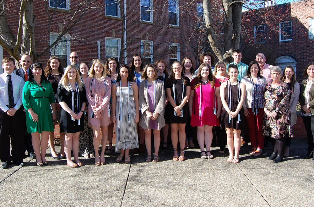 Omicron Delta Kappa National Leadership Society 2019 Induction