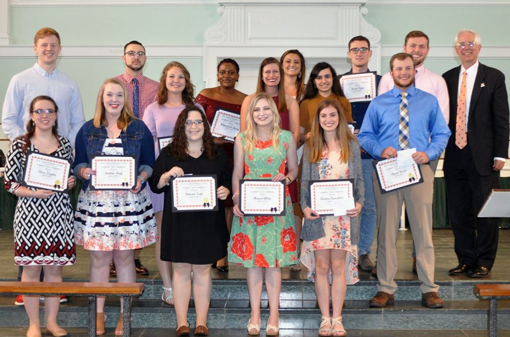 Wesleyan 2019 Academic and Leadership Awards Ceremony