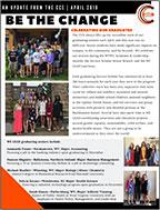 Center for Community Engagement April 2019 Newsletter