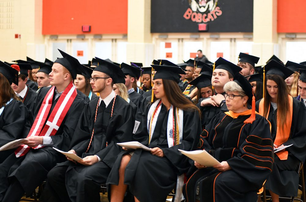 Soon to be graduates of West Virginia Wesleyan