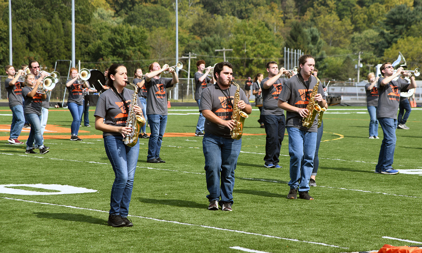 Wesleyan Bobcat Marching Band to perform in the Mountain State Forest Festival Parade West