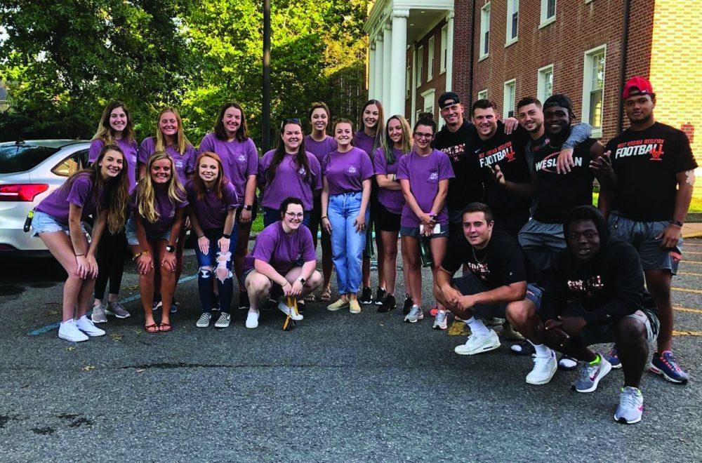 Wesleyan Greeks Total 5,000 Hours to Service during Fall Semester