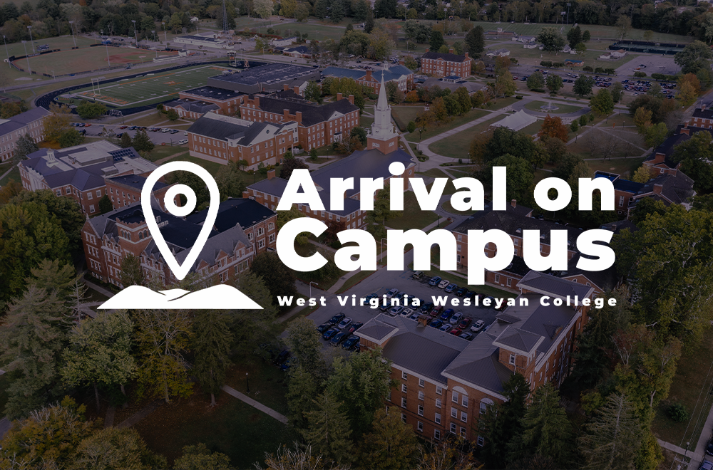 WVWC Arrival on Campus